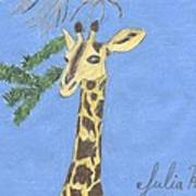 The Giraffe Art Print