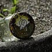 The Glass Jar From The Tsunami Art Print