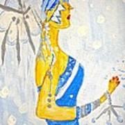 The Goddess Of Winter Art Print