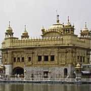 The Golden Temple In Amritsar Art Print