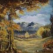 The Golden View Art Print