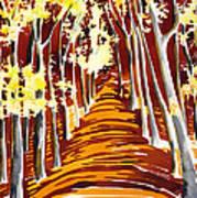 The Golden Way Art Print