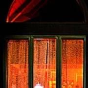 The Golden Window Art Print