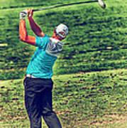 The Golf Swing Art Print