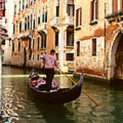 The Gondolier Art Print