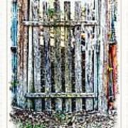The Goose Gate Art Print