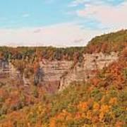 The Gorge In Autumn Art Print