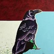The Gossip - Raven Art Print
