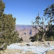 The Grand Canyon In January Art Print