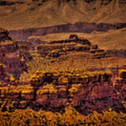 The Grand Canyon Vintage Americana Viii Art Print
