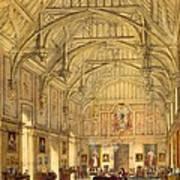 The Grand Hall, Biddington, Surrey Art Print