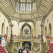 The Grand Staircase, Windsor Castle Art Print