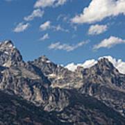 The Grand Tetons - Grand Teton National Park Wyoming Art Print