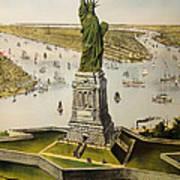 The Great Bartholdi Statue Art Print