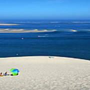 The Great Dune Of Pila In Arcachon Bay Art Print