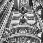 The Great Glass Elevators Art Print