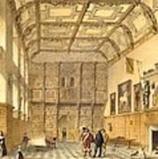 The Great Hall, Hatfield, Berkshire Art Print