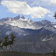 The Rocky Mountains - Colorado Art Print by Mike McGlothlen