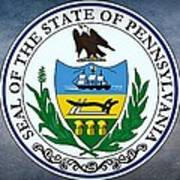The Great Seal Of The State Of Pennsylvania  Art Print