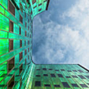 The Green Building Art Print