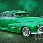 The Green Ghost Art Print
