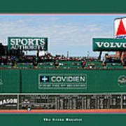 The Green Monster Fenway Park Art Print