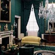 The Green Room In The White House Art Print