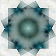 The Green Squares Art Print