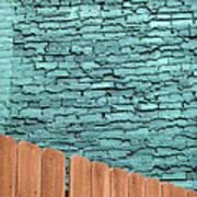 The Green Wall Art Print