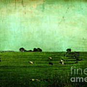 The Green Yonder Art Print by Trish Mistric