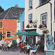 The Greyhound Bar Kinsale Art Print