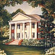 The Grove Tallahassee Florida Art Print