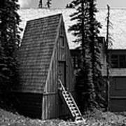 The Guide House At Paradise Art Print