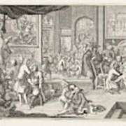 The Guild Of Surgeons The Workshop, 1731 Art Print