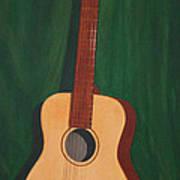 The Guitar  Art Print by Jimmie Bartlett