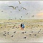 The Gulls Art Print
