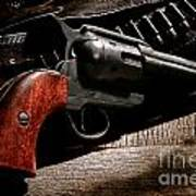 The Gun That Won The West Art Print