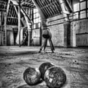 The Gym Art Print