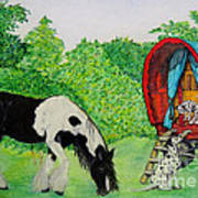 The Gypsies Art Print