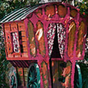 The Gypsy Caravan  Art Print