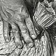 The Hand That Feeds Us Art Print
