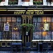 The Happy New Year Pub Art Print