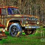 The Hard Headed Ford Work Horses. Art Print