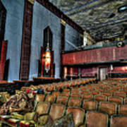 The Haunted Cole Theater Art Print