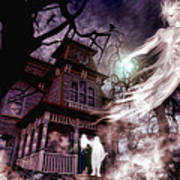 The Haunting Of Blackthorne Manor  Art Print