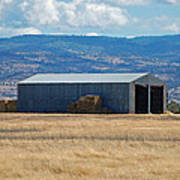 The Hay Shed Art Print