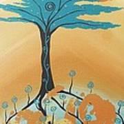 The Healing Tree Art Print
