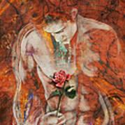 The Heart Finds Peace Through Love Art Print