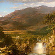 The Heart Of The Andes Art Print