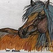 The Heavy Horse Art Print